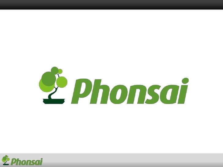 What is Phonsai? Create Mobile Applications without coding...