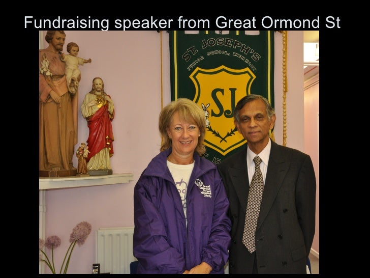 Fundraising speaker from Great Ormond St