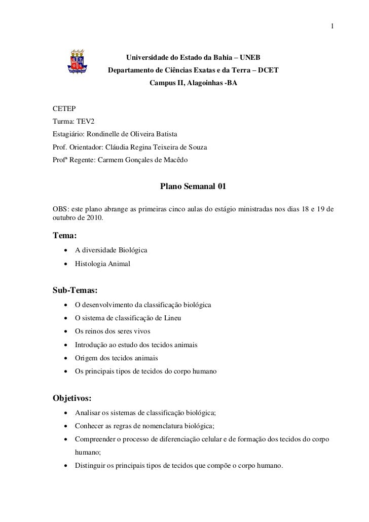 1                        Universidade do Estado da Bahia – UNEB                  Departamento de Ciências Exatas e da Terr...