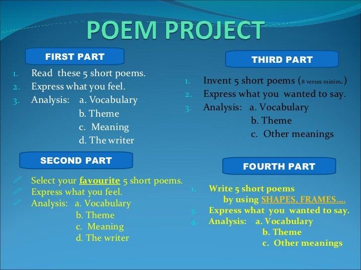 1 poem project