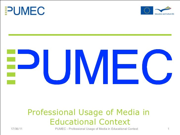 Presentation of PUMEC Project - N. Dillinger, VCAT Consulting GmbH, Germany