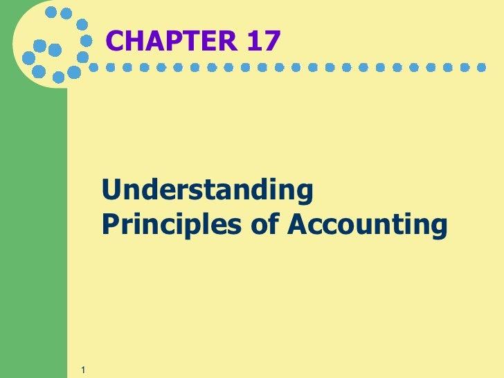 1. principles of accounting
