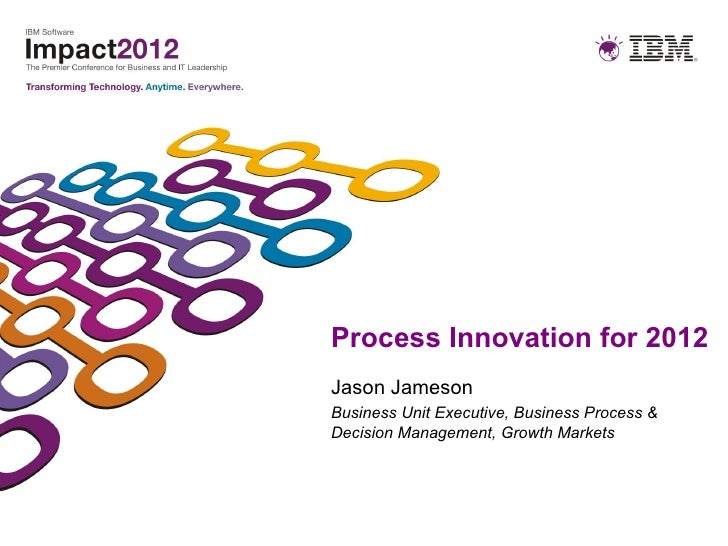 Process Innovation for 2012