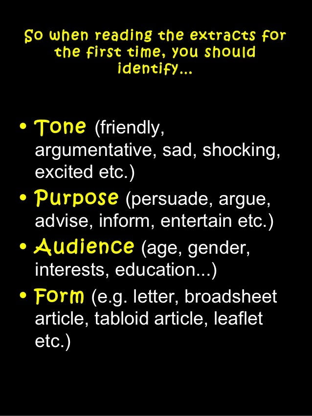what does the tone of an essay mean Get an answer for 'define tone in a persuasive essay' and find homework help for other guide to literary terms, persuasive authority questions at enotes.