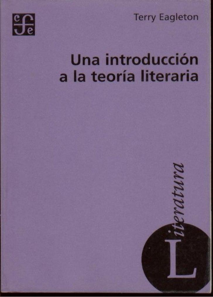 """1.  """"qué es la literatura"""" del libro introducción a la teoría literaria de t. eagleton"""