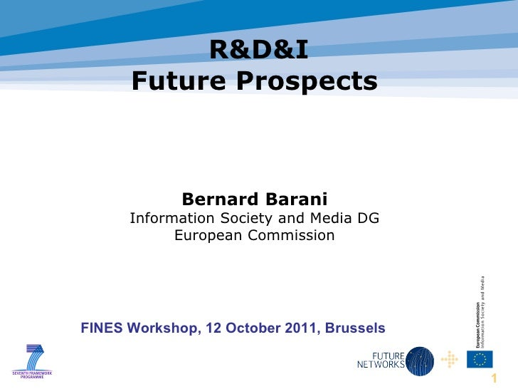 1 r&d&i future prospects