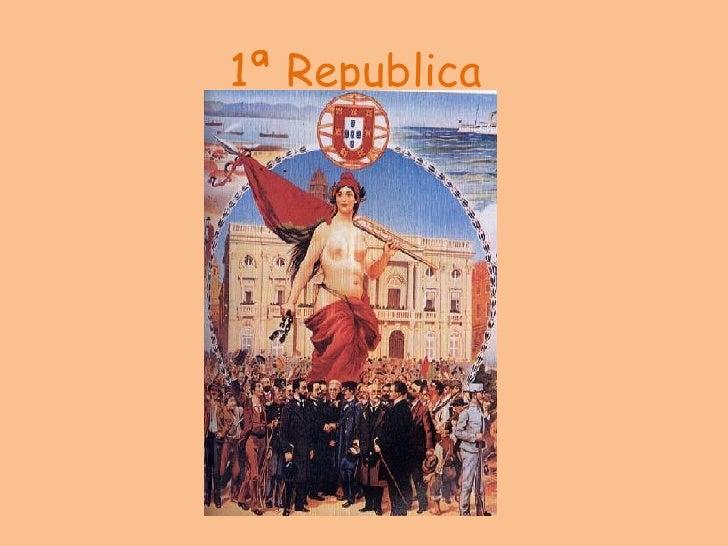 1ª Republica