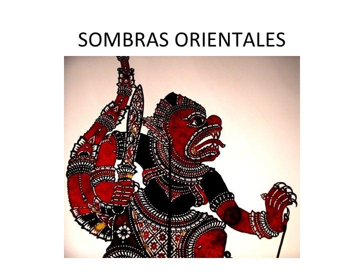 SOMBRAS ORIENTALES