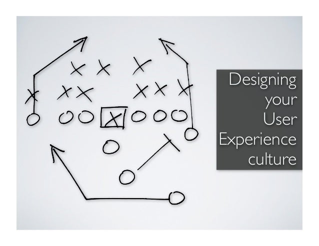 Designing      your      UserExperience   culture