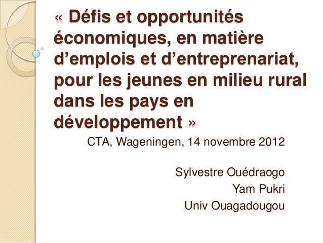 Sylvestre Ouédraogo - Yam Pukri association