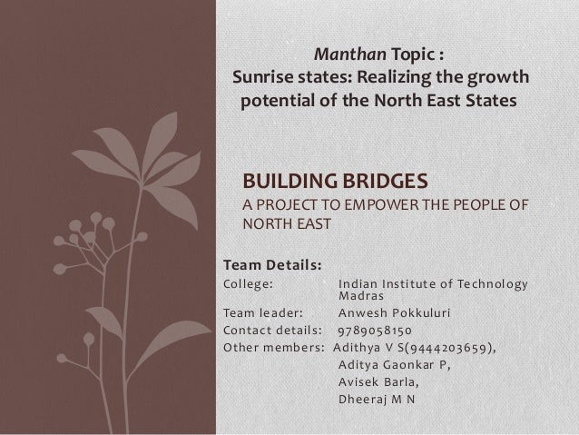 Team Details: College: Indian Institute of Technology Madras Team leader: Anwesh Pokkuluri Contact details: 9789058150 Oth...