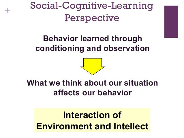 describe the role of personality in affecting situational behavior The role of personality in affecting situational behavior by farrah sharpe throughout the history of time the age old question has been asked by every human being at some point in their lives, who am i.