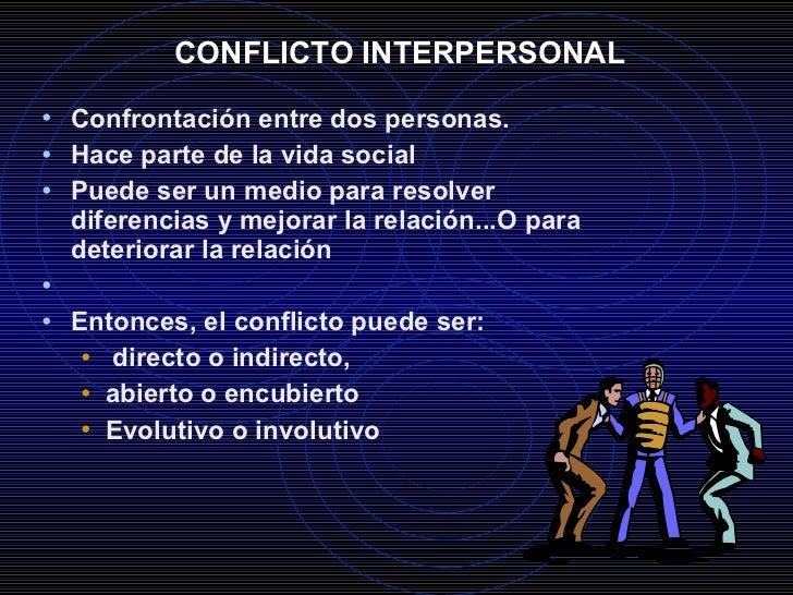 Conflictos personales ejemplos yahoo dating 6