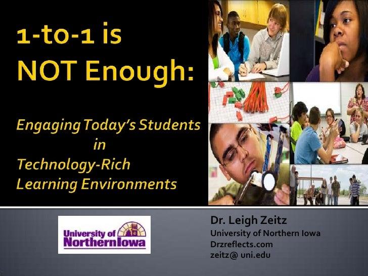 Dr. Leigh ZeitzUniversity of Northern IowaDrzreflects.comzeitz@ uni.edu