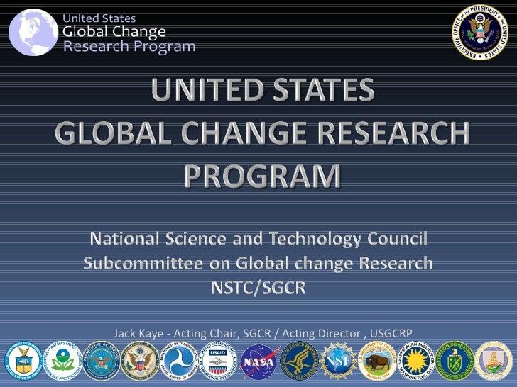 US Globalchange Research Program