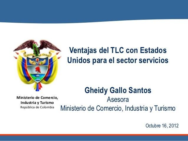 1. ventajas del tlc para el sector servicios