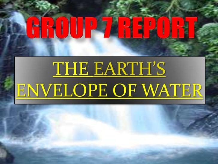 1.water resources