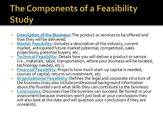 small business feasibility studies
