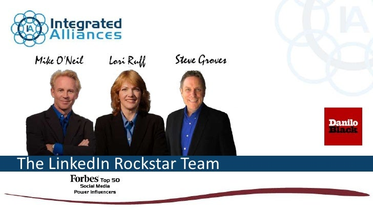 The LinkedIn Rockstar Team