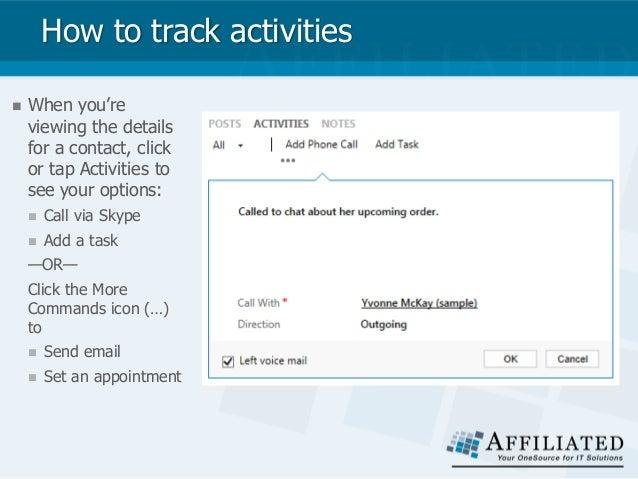 track a Skype call