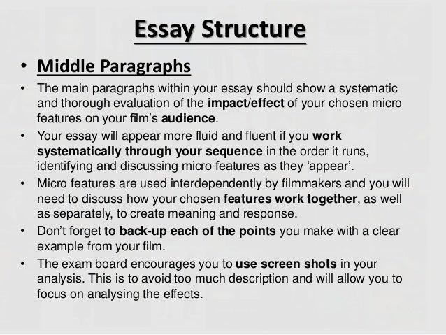 Features of academic essay - SlideShare