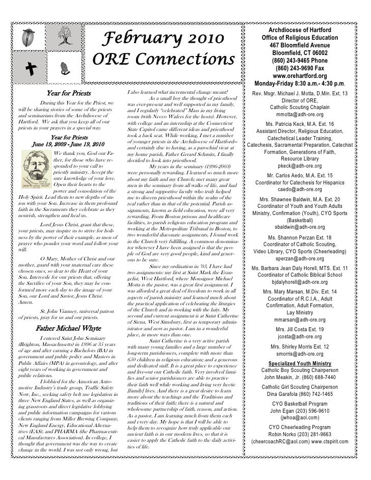 ORE Connections February 2010