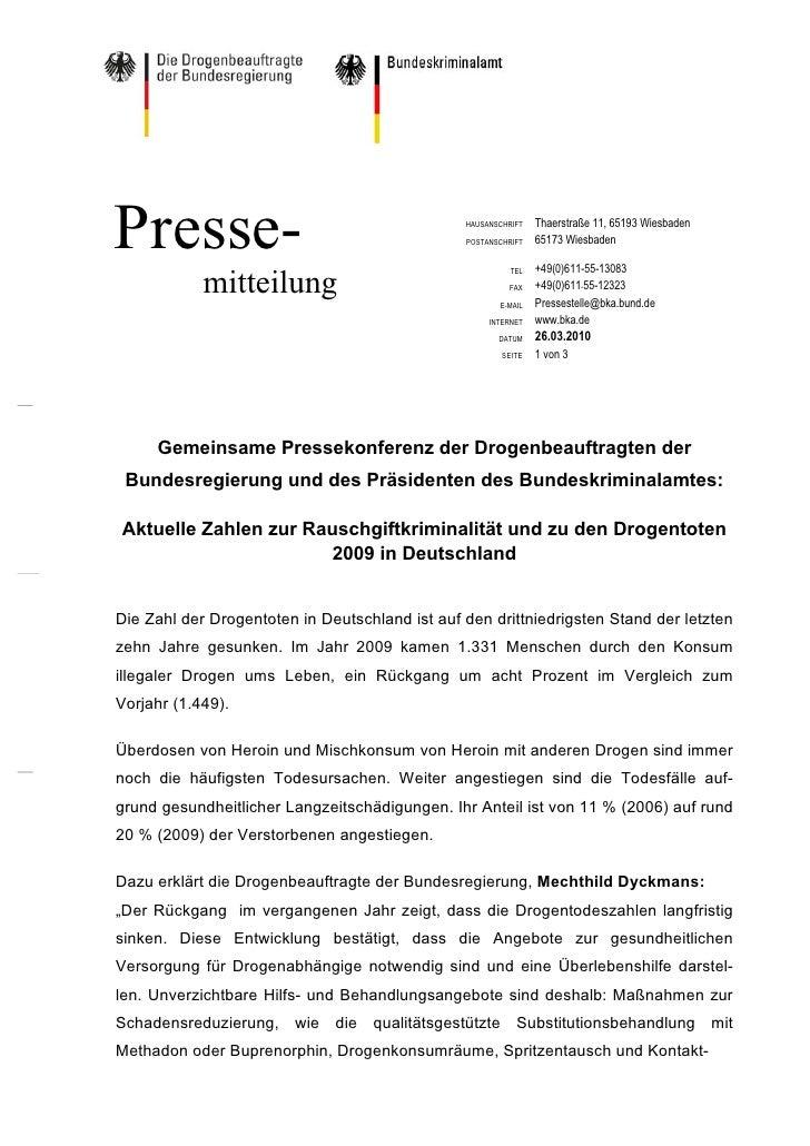 Presse-                                         HAUSANSCHRIFT                                                POSTANSCHRIFT...