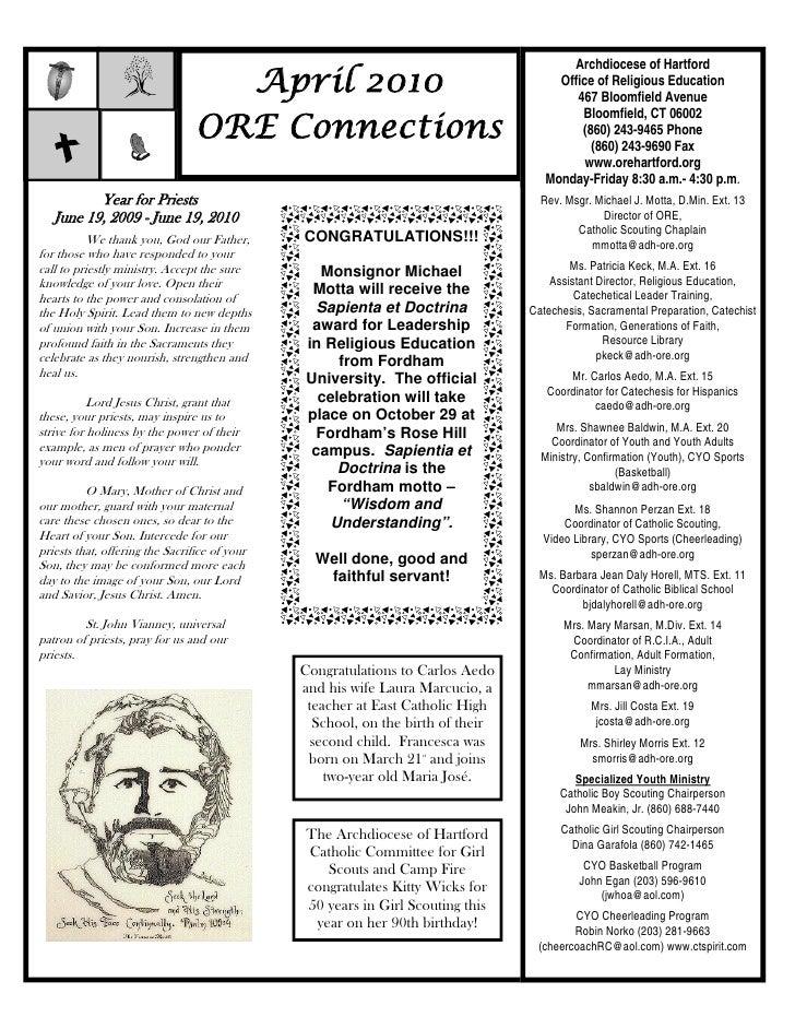 ORE Connections April 2010