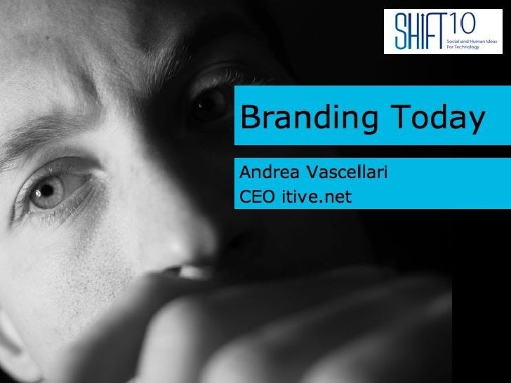 Branding Today