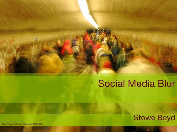 Social Media Blur