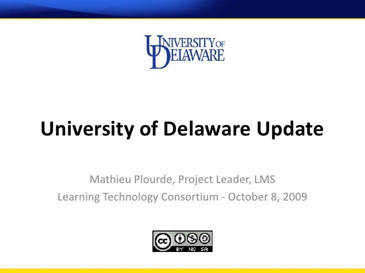 10-08-2009 UD Update LTC