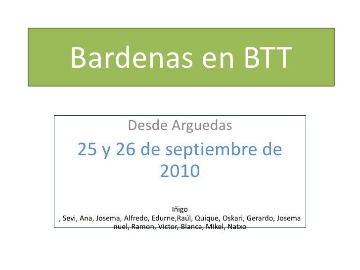 10 09-25 y 26 bardenas en btt