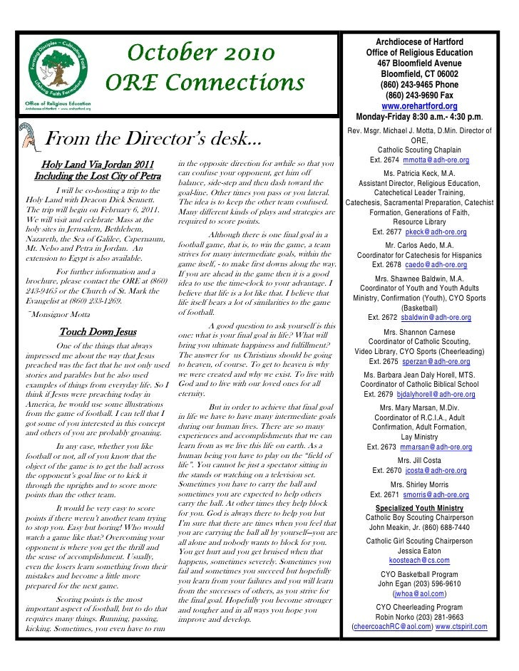 ORE Connections October 2010