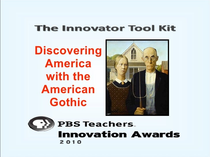 Discovering America with the American Gothic