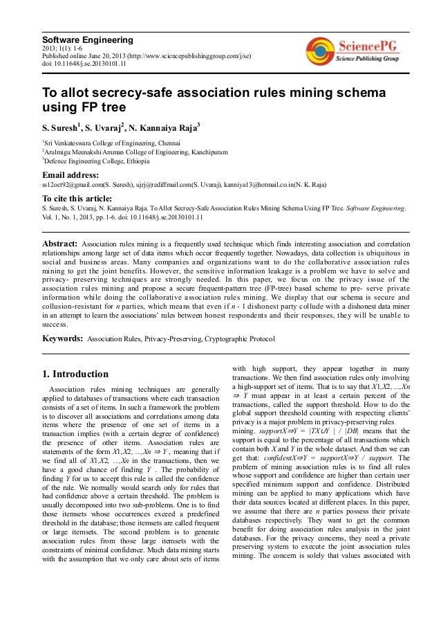 Software Engineering2013; 1(1): 1-6Published online June 20, 2013 (http://www.sciencepublishinggroup.com/j/se)doi: 10.1164...