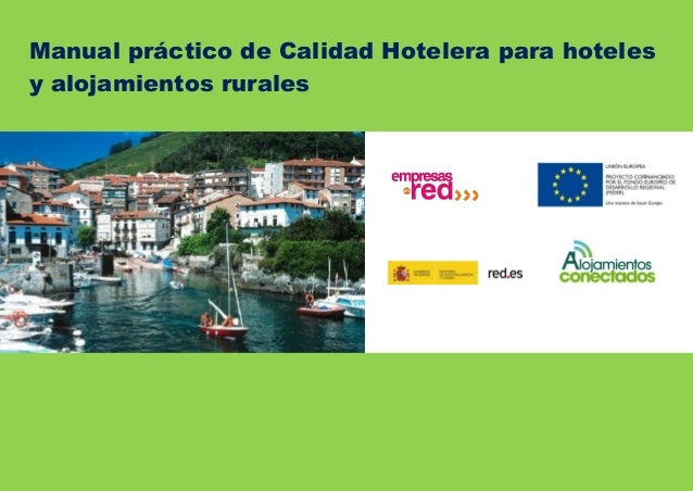 3.3 [Madrid Ce Manual práctico de Calidad Hotelera para hoteles y alojamientos rurales