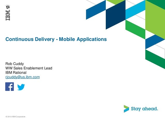 10.8.2013 Continuous Delivery - Mobile Applications