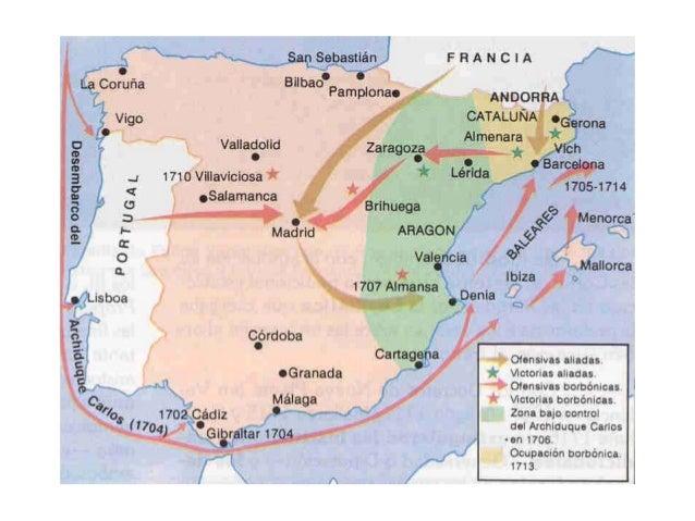 10 1 la guerra de sucesi n y el sistema de utrech - Plano de almansa ...
