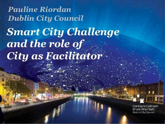 """Pauline Riordan, The Studio, Dublin, """"Czy jestem smart w planowaniu przestrzennym?"""""""