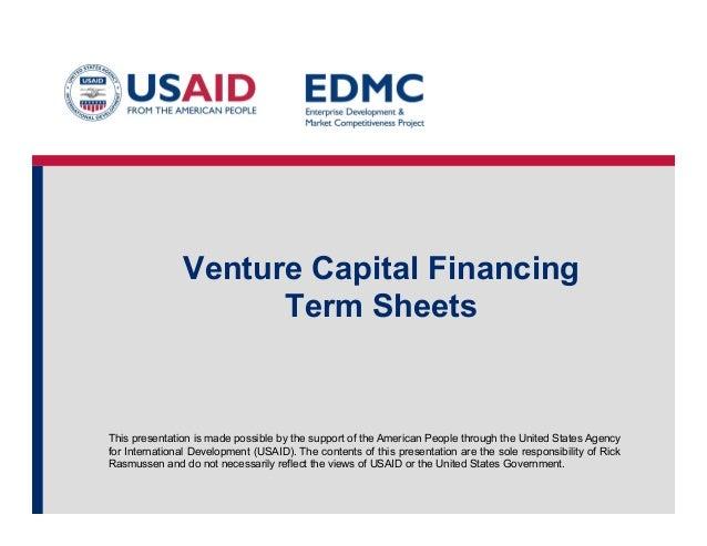 10.3 venture capital term sheets.pptx