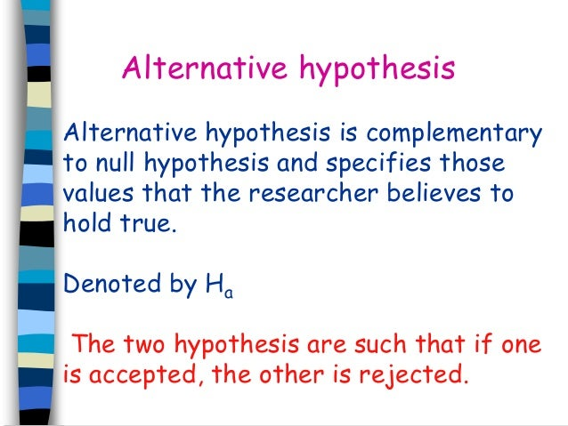 Is this hypothesis valid?