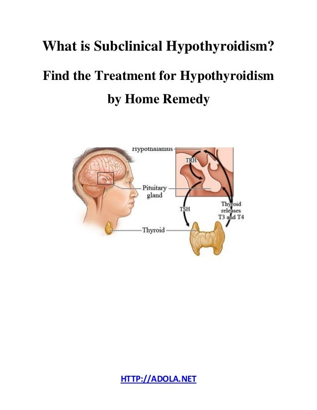 treatment for hypothyroidism Radioactive iodine treatment hypothyroidism frequently develops as a desired therapeutic goal after the use of radioactive iodine treatment for.