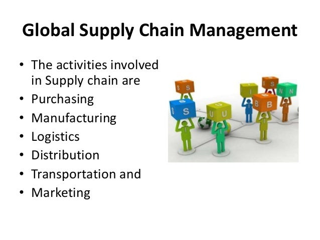 Logistics and Supply Chain Management international business usyd