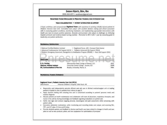 New Graduate Nurse Resume Sample Writing Resume Sample Writing Brefash