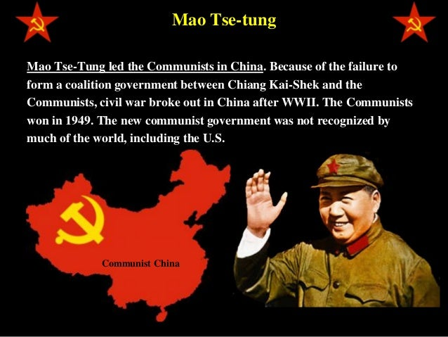 a look at communist china and the role mao tse tung in communism Did you know that hitler was a communist anita dunn once said that mao tse-tung was one of her role look at the radical and controlling.