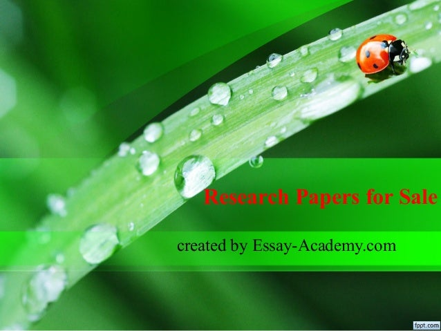Custom Research Paper For Sale | Expert Essay Writers