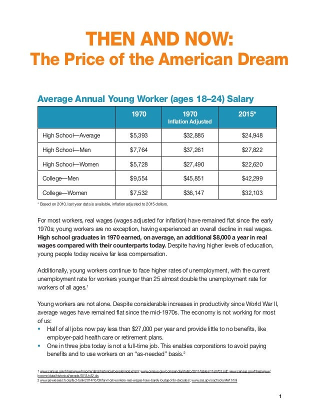 the common perception of the american dream Why is there no english dream as there is an american dream the american dream is an american nightmare considering that people not wealthy enough have no access to basic healthcare cannot send their children (absent slaves and their progeny) has something in common--they (or.