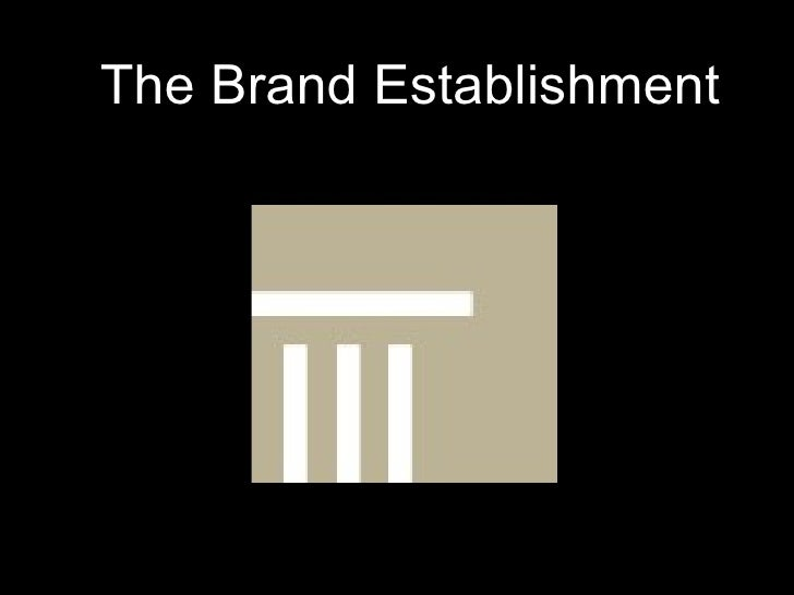 The Brand Establishment