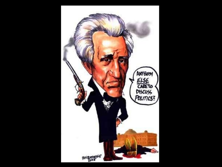 andrew jackson not democratic essay People voted jackson as president with the title of a democratic he was completely the opposite his ruling was more like the practice of tyranny.