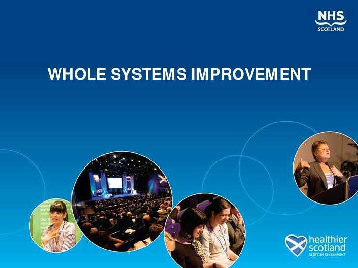 WHOLE SYSTEMS IMPROVEMENT<br />